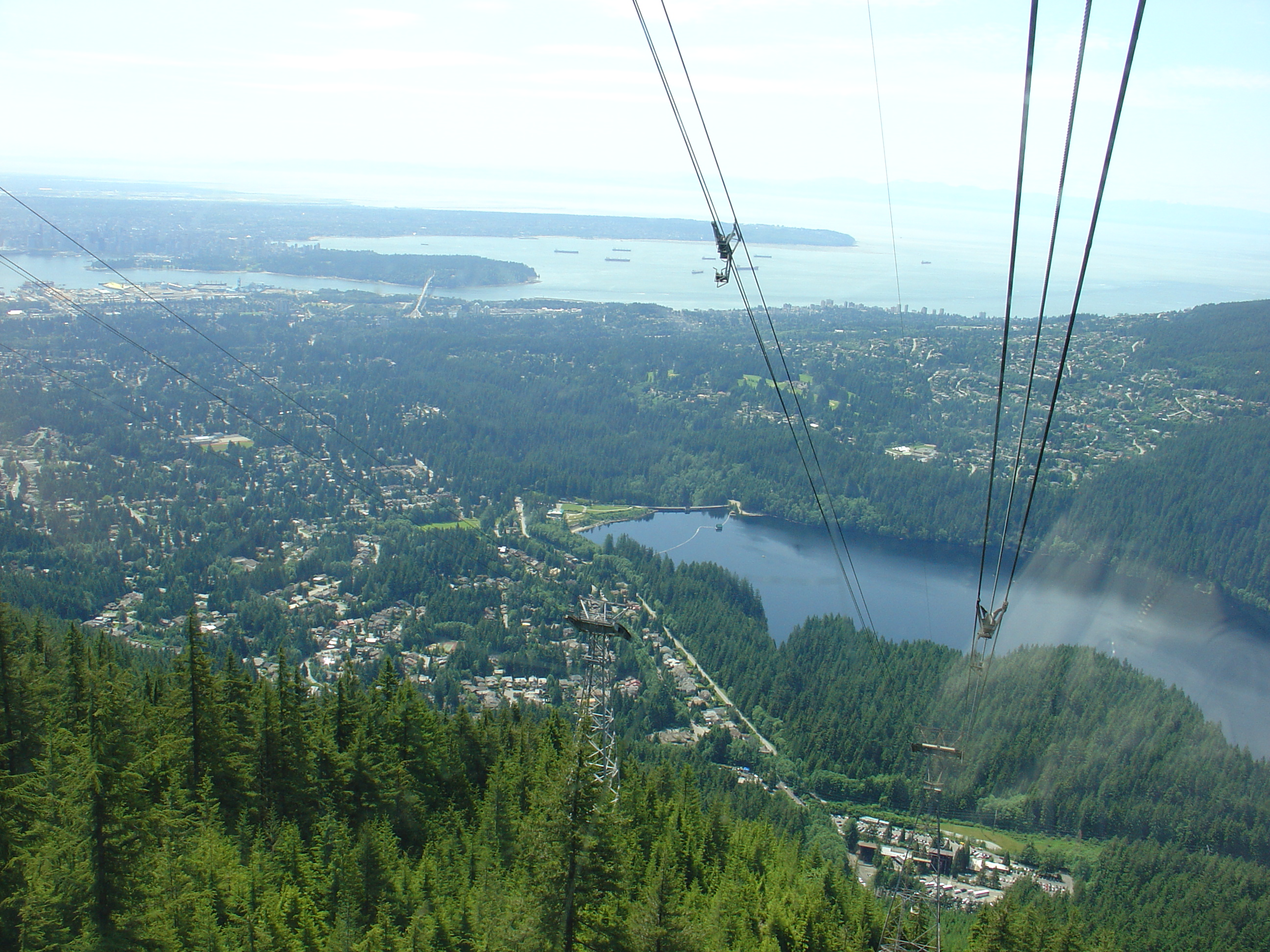 Went To Grouse Mt On My Final Day There The Only One Not Threatening Rain Where Is Skiing In Winter Except For Olympics